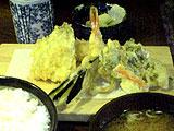 天ぷら住友の天ぷら定食